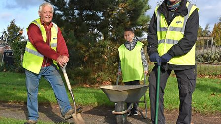 The Kessingland litter picking and clear up group. Picture: Mick Howes