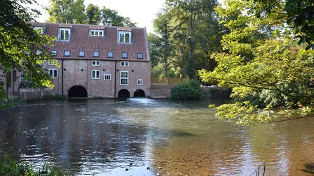 Aylsham watermill, beautifully restored and where the last home is for sale. Pic: www.arnoldskeys.co