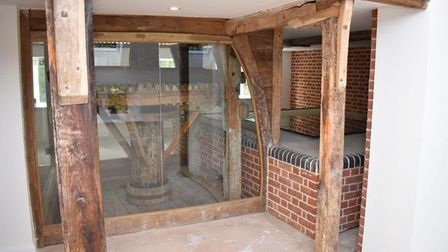The original workings preserved within the property. pic: www.arnoldskeys.com