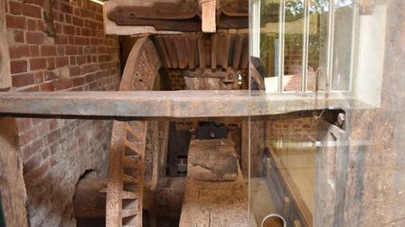 The original workings of the mill preserved within the property. Pic: www.arnoldskeys.com