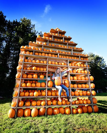 The Pumpkin House, Thursford. Owner Victoria Cushing. Picture: ANTONY KELLY