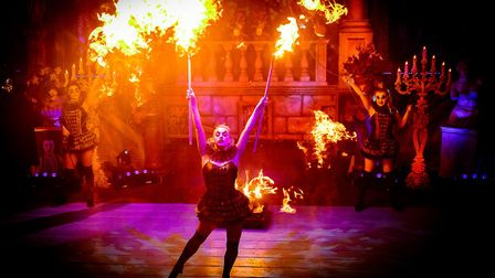 The Halloween Spooktacular at the Hippodrome Circus in Great Yarmouth. Picture: Hippodrome