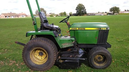 The tractor stolen from Saham Toney Social Club. Picture: Norfolk Police
