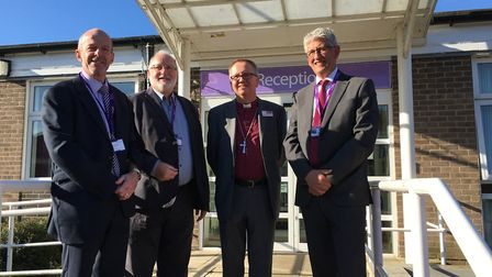 Two new schools have joined the Diocese of Norwich St Benet's Multi Academy Trust. From left: Paul D