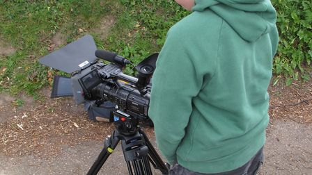 Film makers across East Anglia compete in Fear in the Fens Festival, Downham Market. . Photo: Cultur