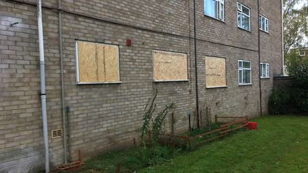 The ground floor property, on Lefroy Road in Mile Cross, was targeted on Tuesday evening between 6.2
