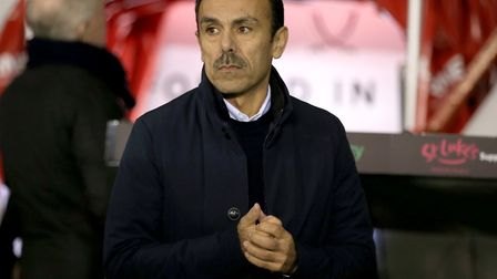 The jury is out on Sheffield Wednesday manager Jos Luhukay Picture: PA