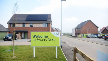 The Swan's Nest housing development in Swaffham, which will now have 97 new homes. Picture: Ian Burt