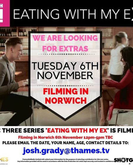 Be in an extra in a TV show in Norwich (Image: Thames TV)
