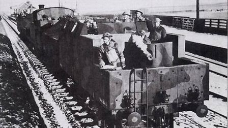 One of the armoured trains Picture: The Polish Institute and Sikorski Museum - London