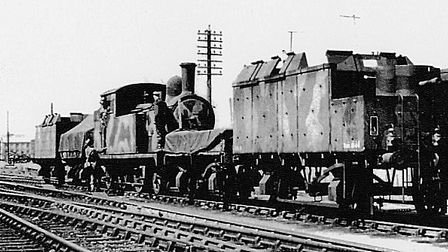 An armoured train Picture: The Polish Institute and Sikorski Museum - London