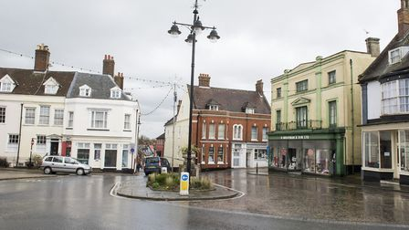 Bungay will no longer have a PCSO in the town. The Buttercross, Bungay. Picture: Nick Butcher.