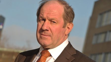 Suffolk Police and Crime Commissioner, Tim Passmore. Picture: SARAH LUCY BROWN