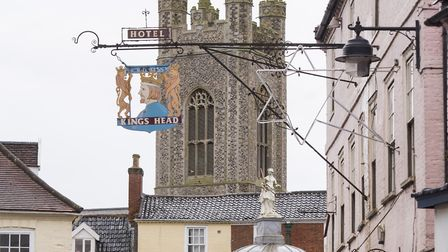 CCTV will be installed across Bungay following the sexual assault of a teenage boy. The Buttercross,