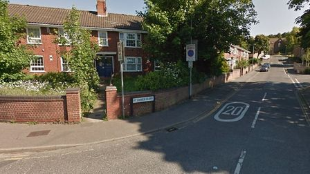 Carmen Gugu punched a woman twice in the face in St James' Close, Norwich (Picture: Google)