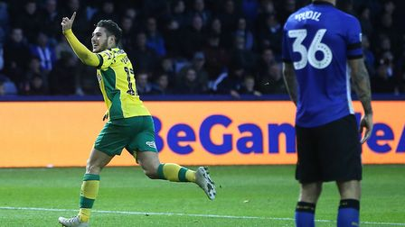 Emiliano Buendia has two goals from his two most recent Norwich Cit performances. Picture by Paul Ch