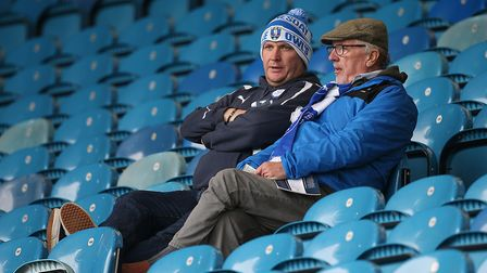 Early home fans in their seats before the Sky Bet Championship match at Hillsborough, SheffieldPictu