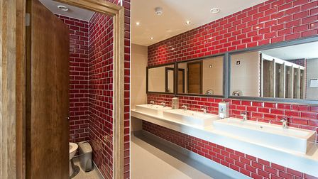The rest rooms are critiqued on everything from the decor to the accessibility, the washing and hand