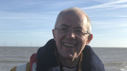 'Emotionally moving and profoud' The Archbishop of Canterbury describes laying a wreath to commemora