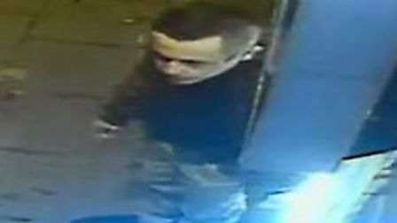 CCTV footage of Tony Green leaving Bar X on Saturday September 8. Picture: Norfolk Police