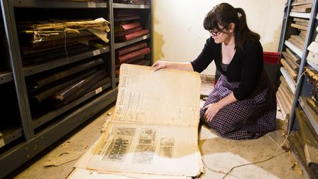 Volunteers are needed to help digitise 150 years of newspaper content in the Archant archive. Pictur