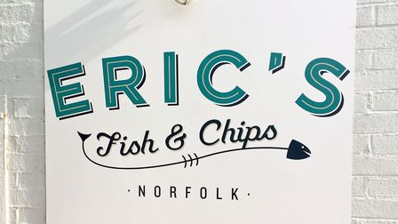 Eric's Fish and Chips shop in Thornham. Photo by Emily Revell.