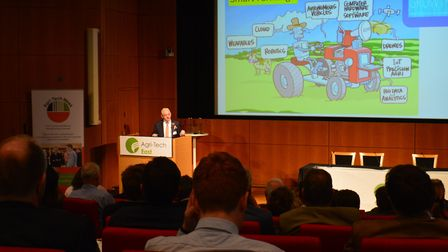 Agri-Tech East REAP Conference 2018. Picture: Chris Hill.