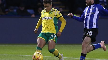 Canaries youngster Max Aarons has retained his place in the England U19 squad Picture: Paul Chestert