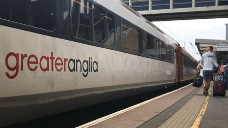 Greater Anglia train at station. Picture Archant.