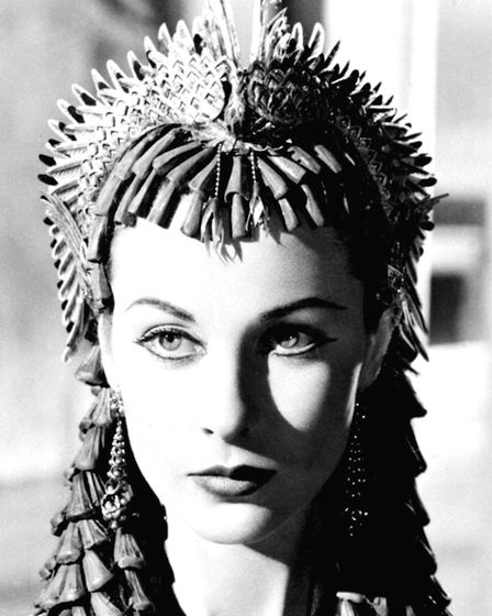 Vivien Leigh in Caesar and Cleopatra. Picture: PA Archive/PA Images