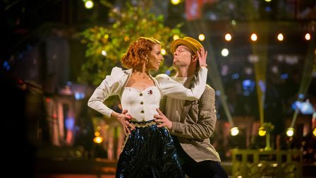 Stacey Dooley, Kevin Clifton - (C) BBC - Photographer: Guy Levy