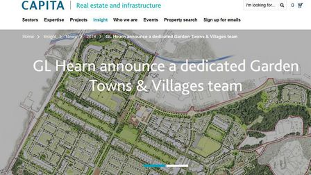 Capita, which makes recommendations for planning applications in Breckland, has launched a team to h