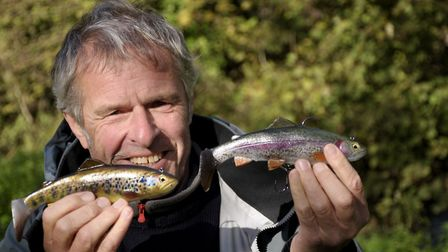 The new lures are so realistic you can smell the slime! Picture: John Bailey