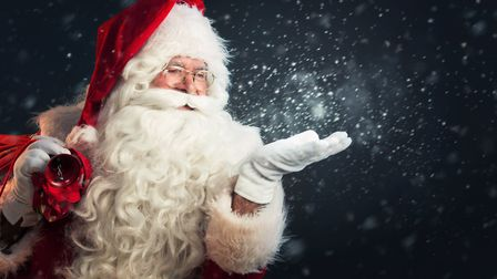 Santa is already busy with a string of bookings in Great Yarmouth Picture Getty Images