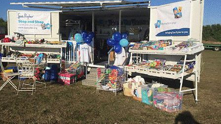 Mobile 'Stop & Shop' charity store will be set up on the Tuesday Market Place. Photo: Sue Ryder