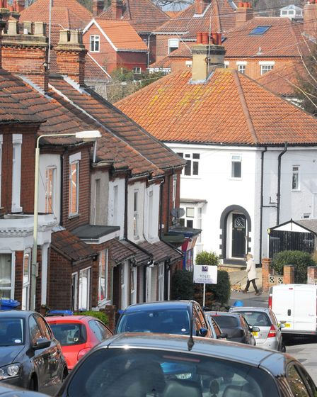 Lincoln Street, Norwich, where Harry Crouch and his family lived during the First World War. Photo :