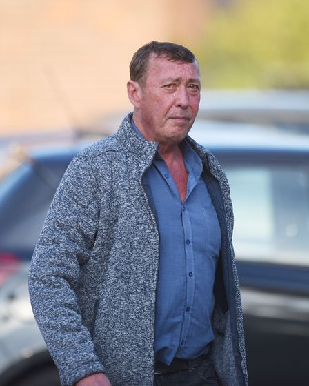 James Pateman, 55, of no fixed abode, was found guilty of handling stolen goods. Picture: Staff phot
