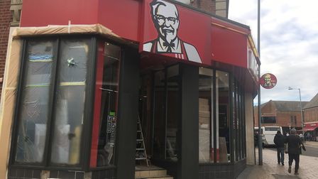 The fast food chain on High Street will be closed for ten days for what KFC describe as 'major refur
