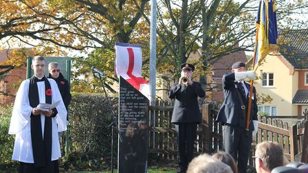 New war memorial unveiled in Brundall. Picture: IAN ATKINS