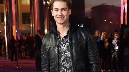 AJ Pritchard attending the Bohemian Rhapsody World Premiere held at the the SSE Arena, Wembley, Lond
