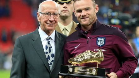 Wayne Rooney is back in the mix for England for one game only Photo: Nick Potts/PA Wire.