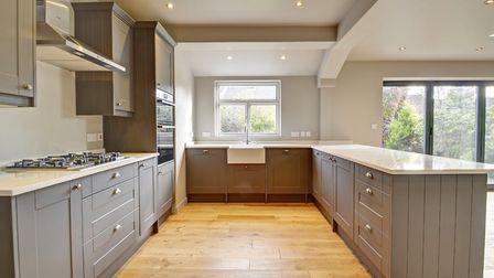 The kitchen after the renovation. Pic; www.brown-co.com