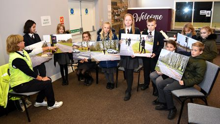 Road safety with Suffolk Roadsafe as Crucial Crew commences in Lowestoft, with about 1,200 schoolchi