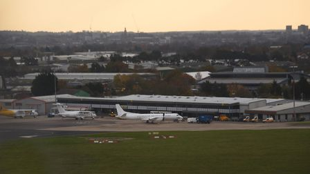 Norwich Airport. Picture: DENISE BRADLEY