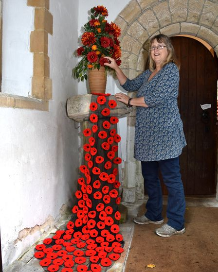 A Poppy Day Festival is taking centre stage at Gunton St Peter's Church this weekend. Jenny Ferns w