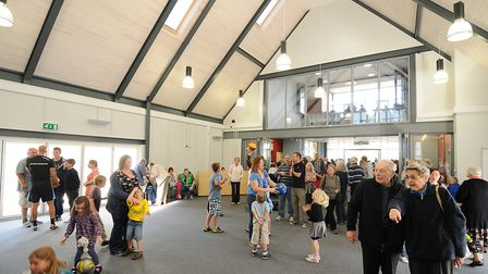 The opening of The Lighthouse Church in 2013. PHOTO: ANTONY KELLY