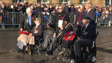 Armistice Day centenary remembered. Picture: Archant
