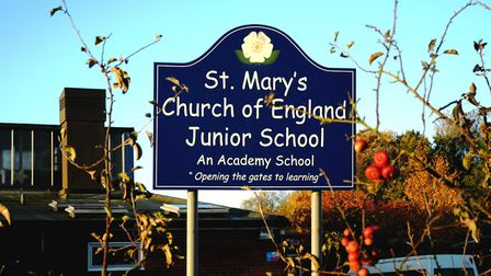 St Mary's Junior School in Long Stratton is being sued for damages of up to £150,000. Picture: Simon