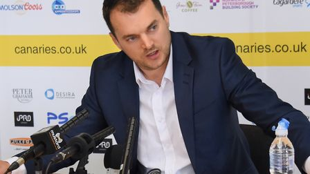 Norwich City sporting director Stuart Webber wants to stay in the moment after moving top of the Cha