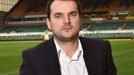 Norwich City sporting director Stuart Webber at Carrow Road Picture: Sonya Duncan